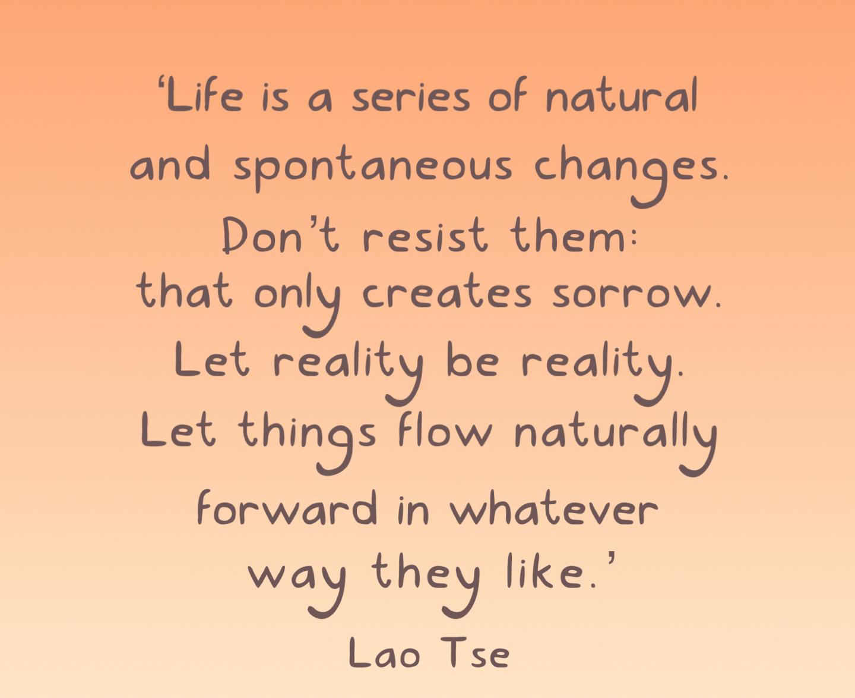 Lao tse verandering