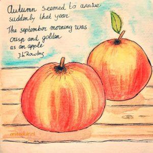 workshop herfstkleuren appels