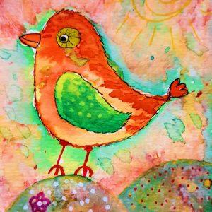 kaart birdy