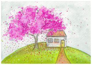 kaart Let's blossom bloeitijd