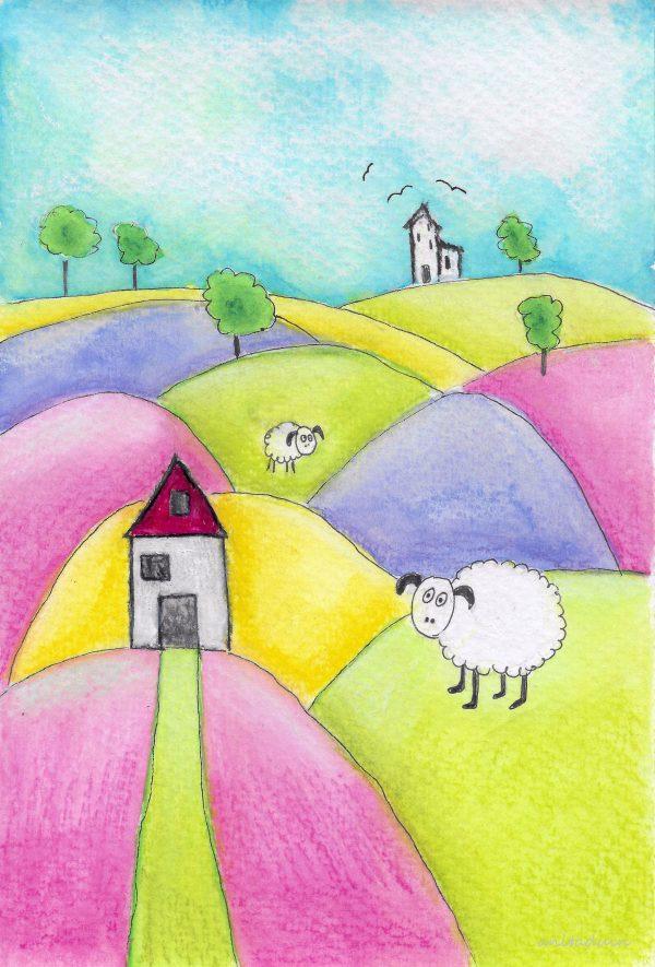 sheepy springtime welkom lente