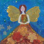 mini-schilderij angels&fairies