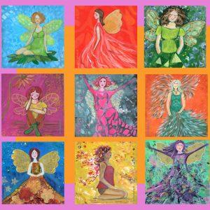 kaartjes angelsfairies