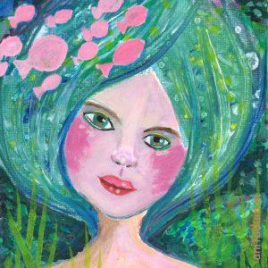 Minischilderij-Mermaids-121