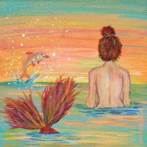 Minischilderij-Mermaids-122